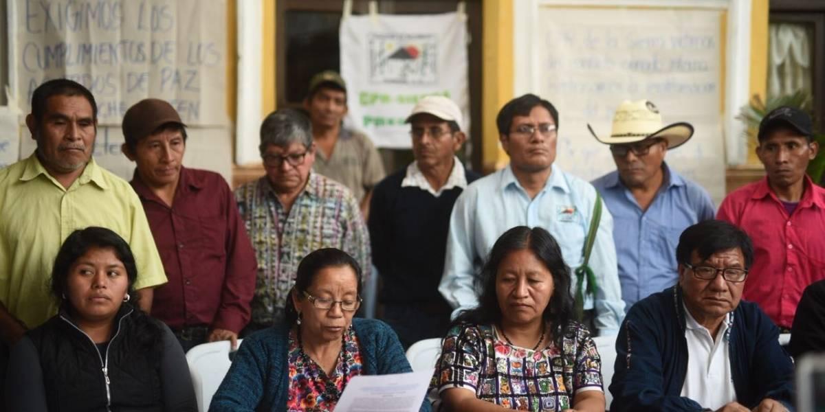 """Organizaciones de víctimas del conflicto armado interno denuncian """"remilitarización del país"""""""