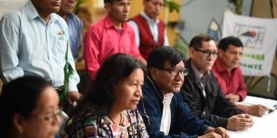 organizaciones de sobrevivientes del conflicto armado interno rechazan uso de militares en conferencia del presidente