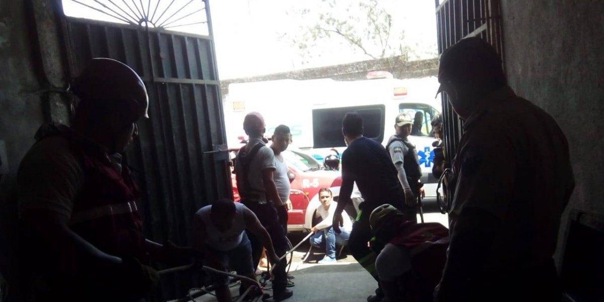 Santo Domingo: Rescataron a una persona que cayó en un pozo de agua