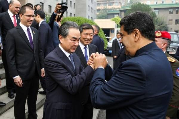 Nicolás Maduro, presidente de Venezuela en China