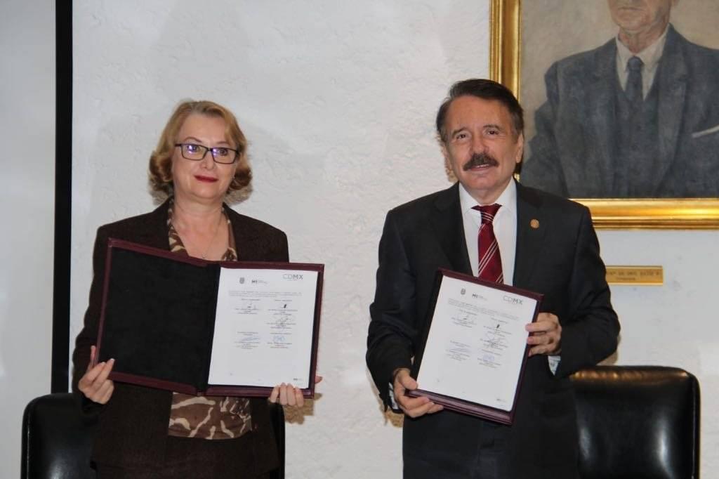 El IPN se suma al Programa de Sendero Seguro de M1, anuncia su Director General, Mario Alberto Rodríguez Casas. Foto: IPN