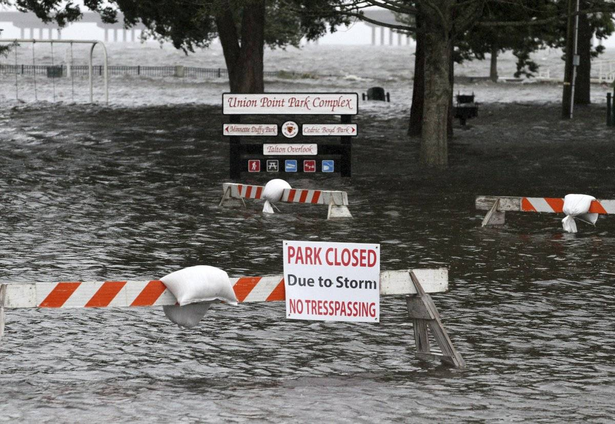 huracán florence inundaciones