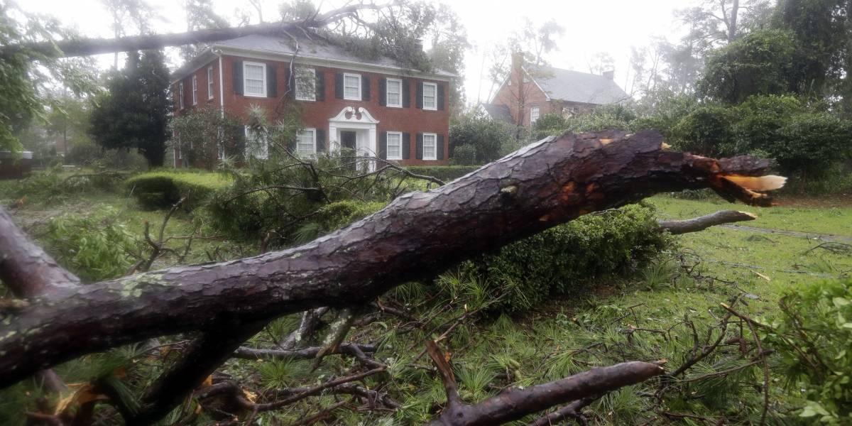 Una mujer y su bebé son las primeras víctimas fatales del huracán Florence