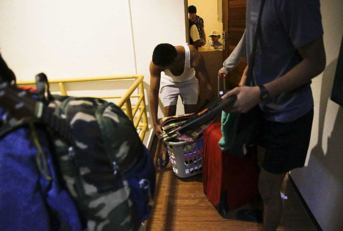 El tifón Mangkhut es el más poderoso que azota Filipinas Foto: AP