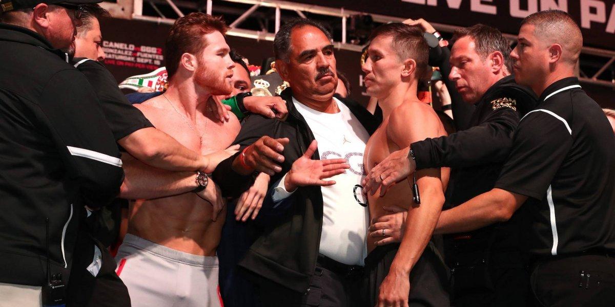 'Canelo' Álvarez y GGG, calientan la pelea sin un frente a frente