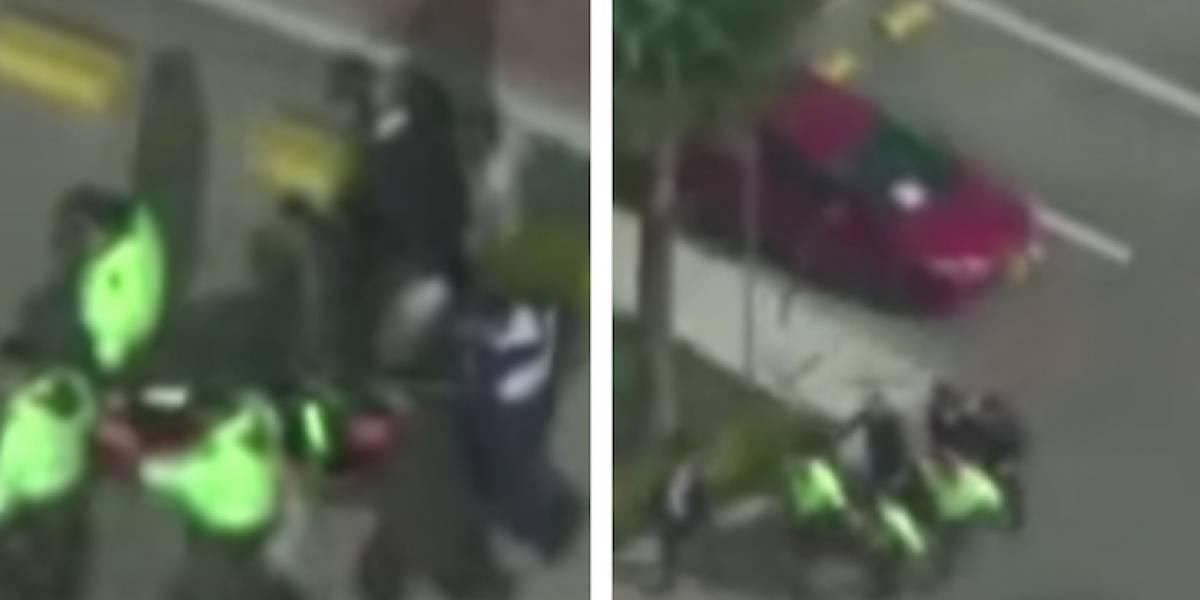 Video: como no llegó la ambulancia, la subieron a una camilla y la llevaron a pie al hospital