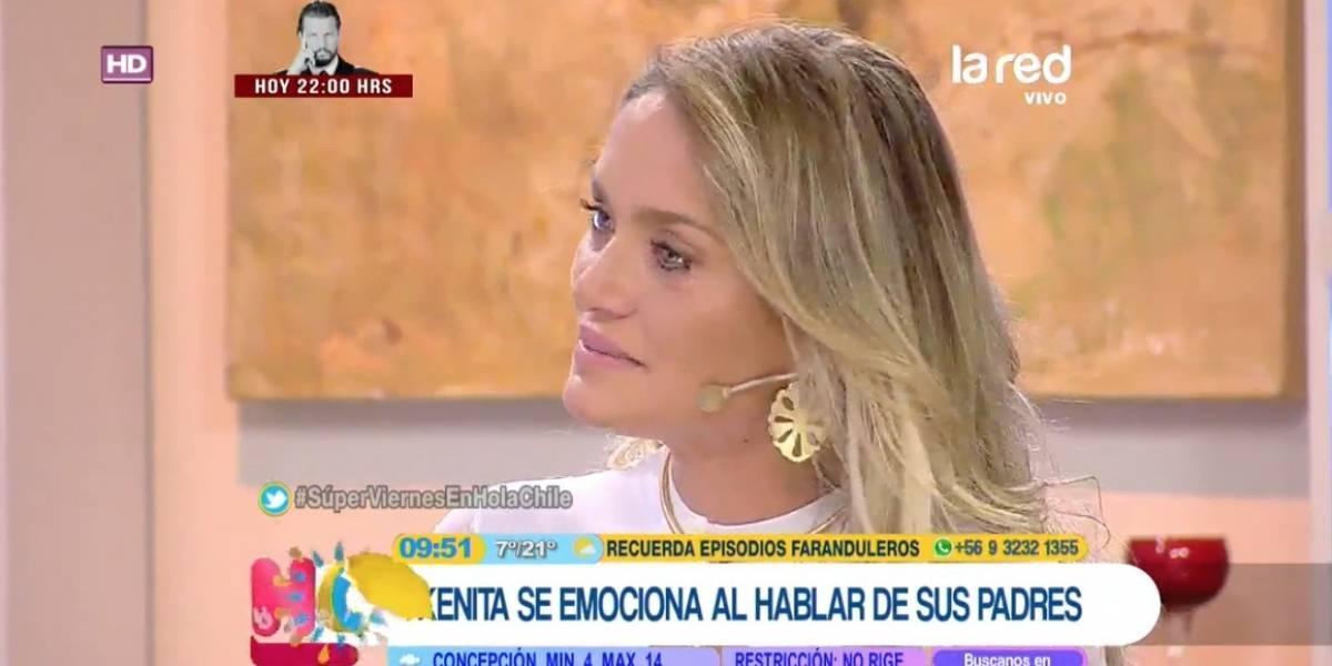 Kenita Larraín se emociona y asegura que su momento más doloroso fue la separación con Marcelo ríos
