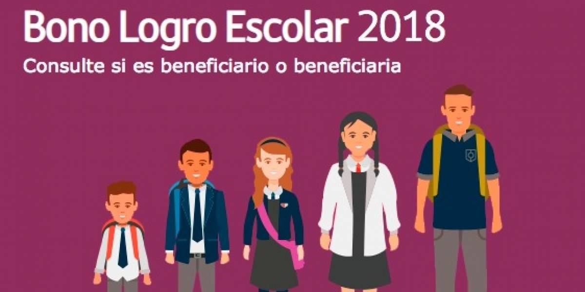 Comienza entrega del Bono Logro Escolar: revisa acá si tu hijo es uno de los beneficiados
