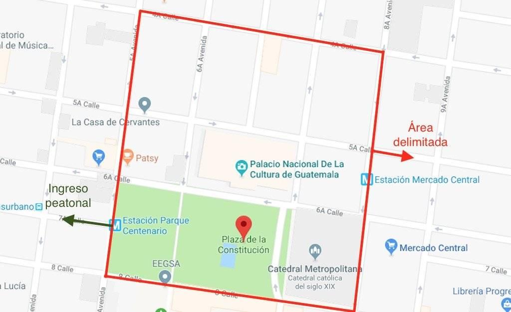 Área que permanecerá cerrada por las fiestas patrias. Foto: Publinews