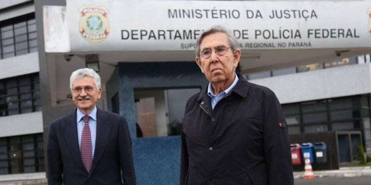 Cuauhtémoc Cárdenas visita al ex presidente brasileño Lula da Silva