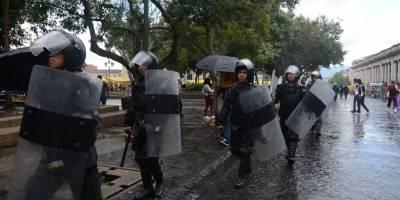 Antimotines del Ejército de Guatemala.