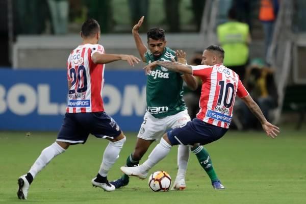 Thiago Santos es el destructor del mediocampo del Palmeiras / Foto: AP