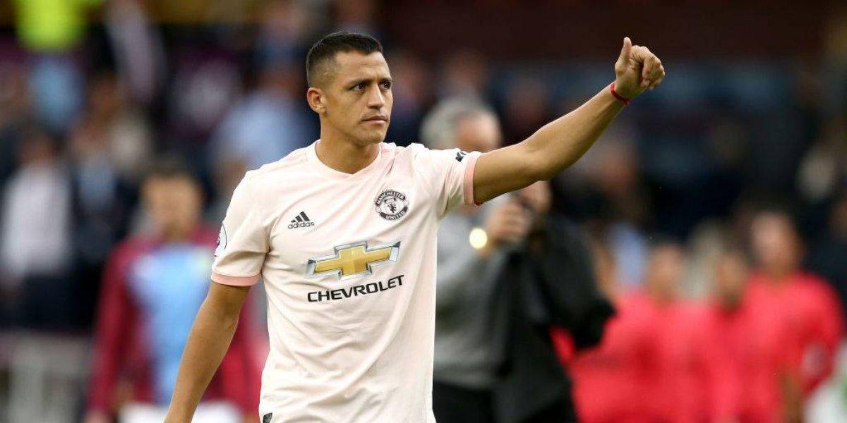 Jose Mourinho ratificó la titularidad de Alexis Sánchez ante Wolverhampton