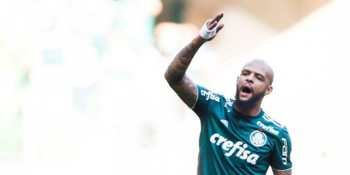 Sufre Palmeiras antes de jugar con Colo Colo: Felipe Melo se perderá toda la serie por la Libertadores