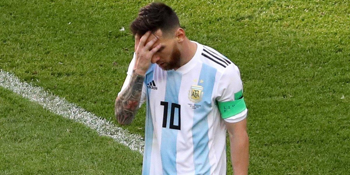 El día en que Messi lloró por mala racha con la Albiceleste