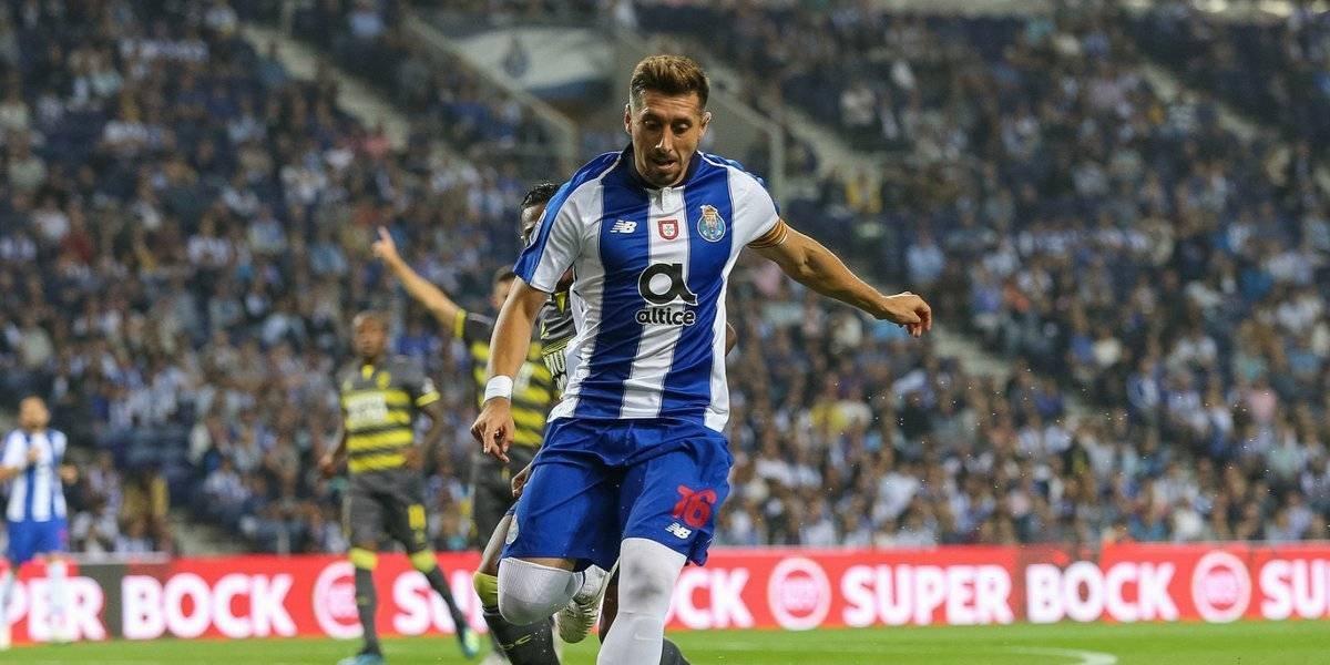 Con mexicanos en la cancha Porto empata en su debut en la Copa de Portugal