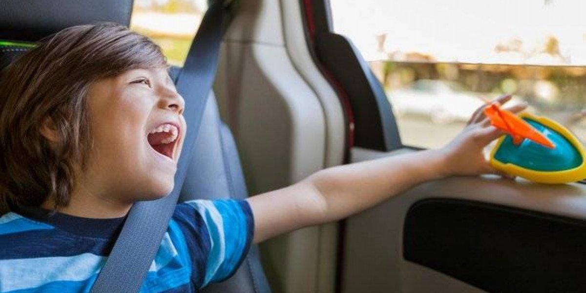 Fiestas Patrias: algunas recomendaciones para viajar con niños en carretera