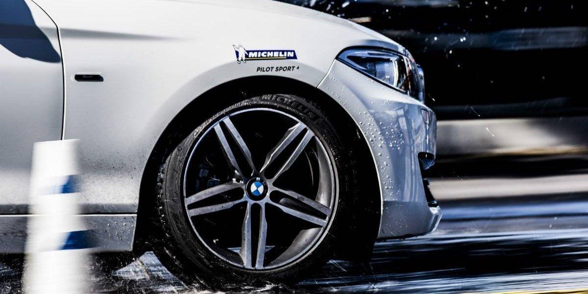 BMW sigue confiando en Michelin para sus tests