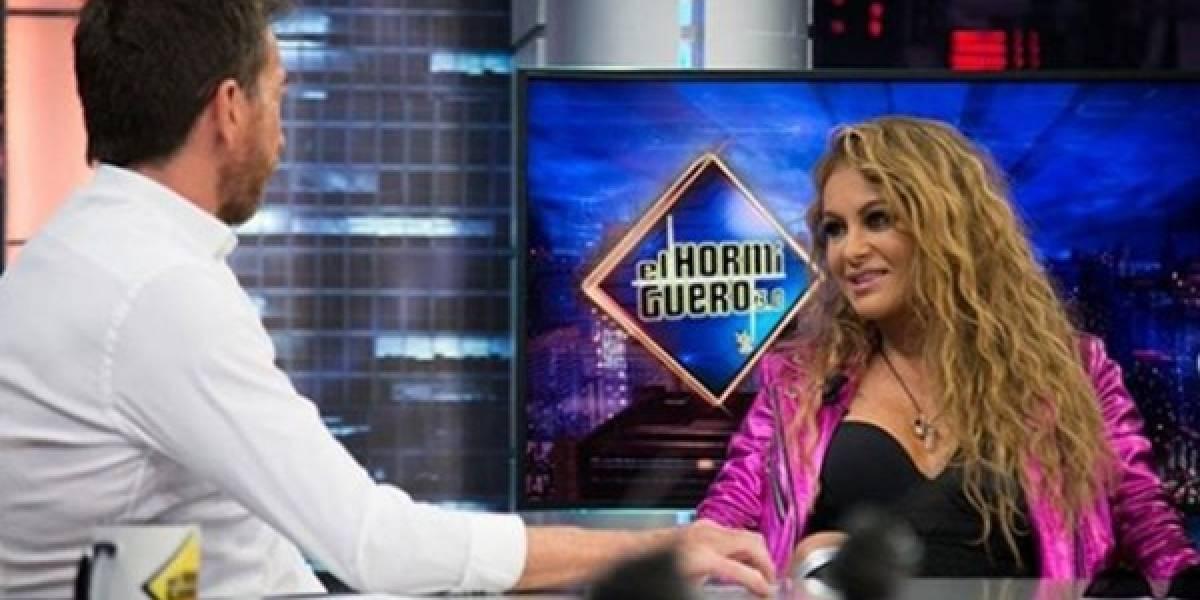 ¿Qué le pasó en el rostro a Paulina Rubio? Así reapareció la cantante en televisión