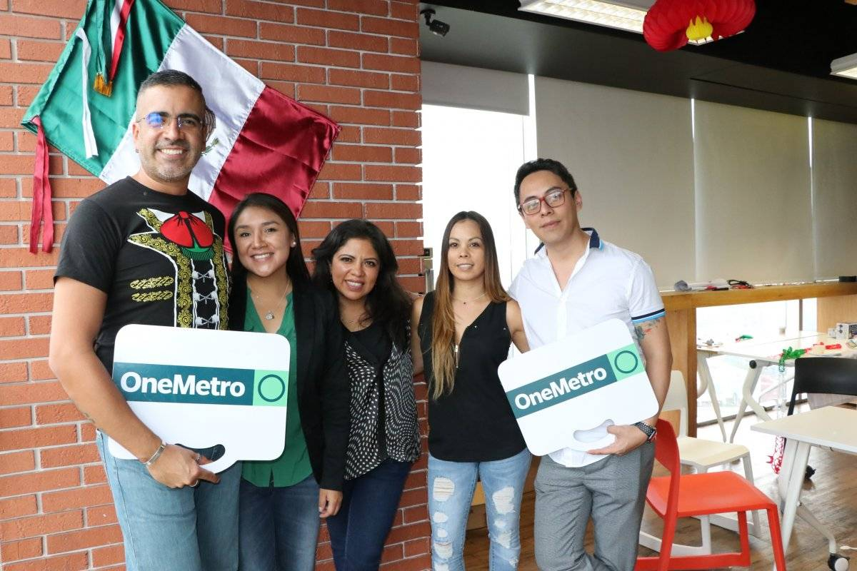 El equipo de marketing realizó el concurso. Ángel Cruz