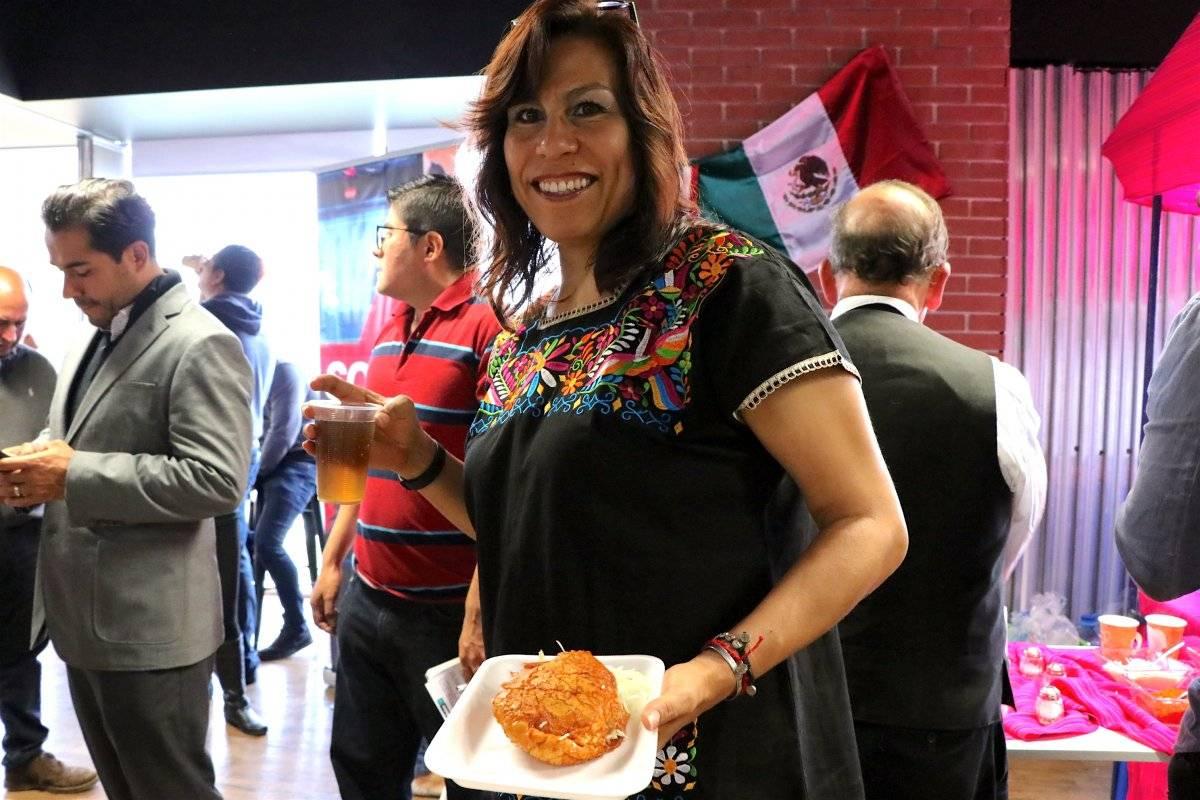 Además los participantes pudieron degustar antojitos mexicanos. Ángel Cruz/Publimetro