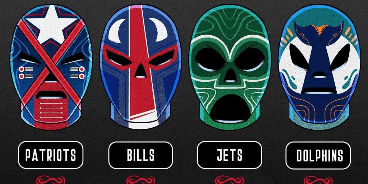 NFL festeja a México con máscaras de Lucha Libre
