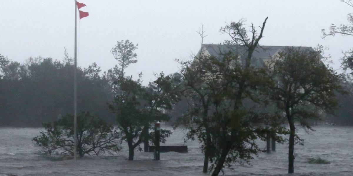 Florence arrojará 18 billones de galones de lluvia