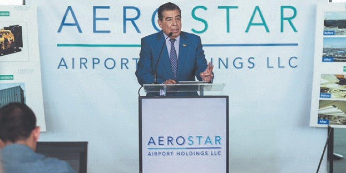 Millonaria inversión  de Aerostar tras María