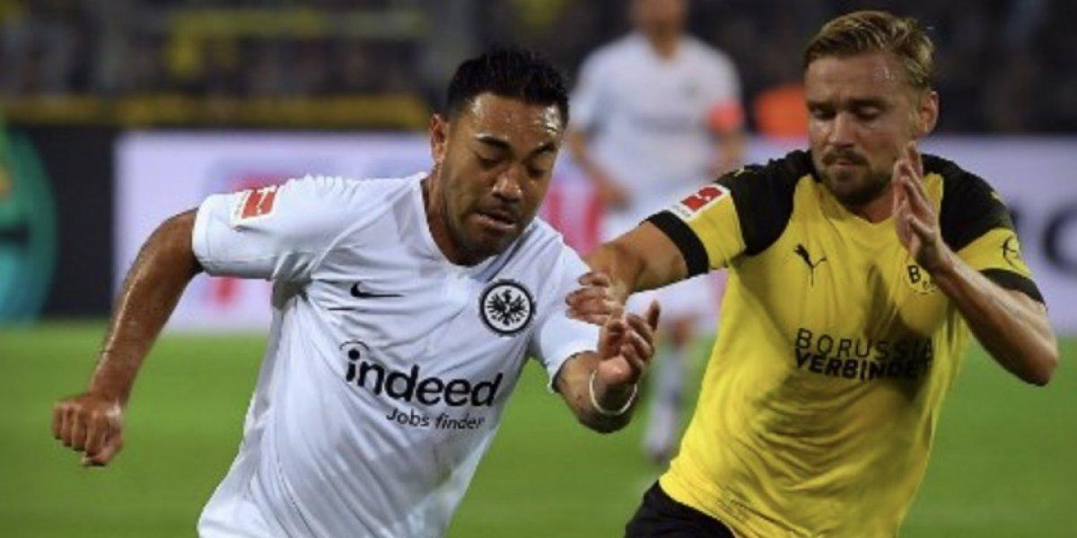 Marco Fabián regresa en la derrota del Frankfurt