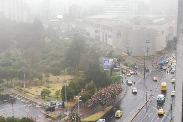 Inhami alerta lluvias hasta el 14 de diciembre