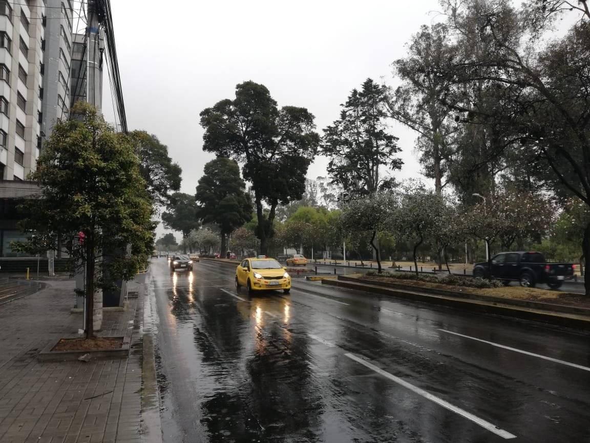 Se registran lluvias en la Amazonía y Sierra ecuatoriana