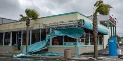 Estragos que dejó el huracán Florence en EEUU.