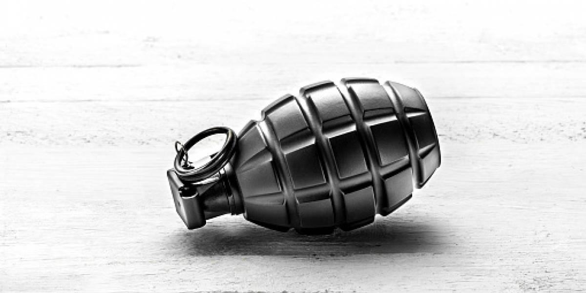 Un artefacto explosivo se detonó en los exteriores del Cuartel de Policía, en El Triunfo