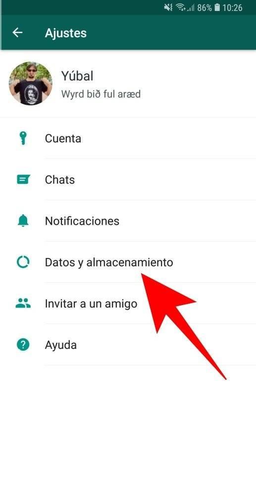 Cómo configurar WhatsApp para usar menos datos