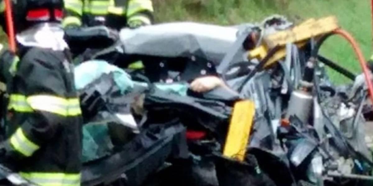 Acidente com carretas, caminhão e carros deixa dois mortos e para Rodoanel em São Paulo