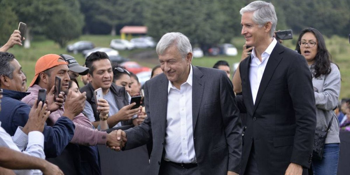 AMLO garantiza construcción del Tren México-Toluca