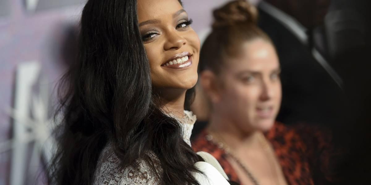 Famosos ayudan a hacer brillar el Diamond Ball de Rihanna