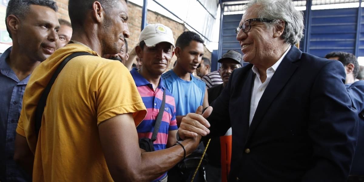 OEA amenaza con uso de fuerza militar contra Venezuela