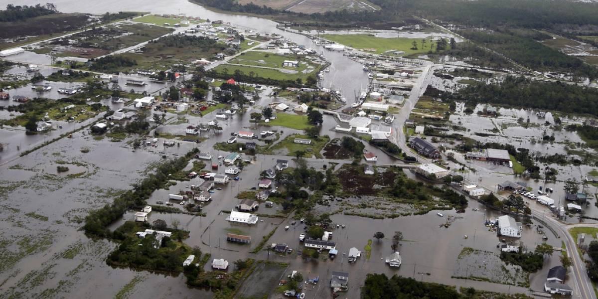 Ya son nueve los muertos por huracán Florence en EU
