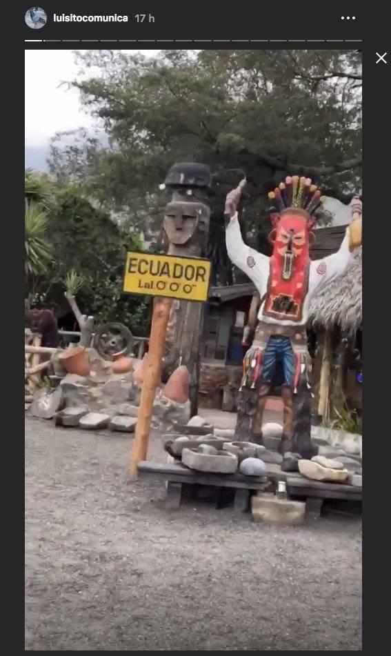 Luisito Comunica visita Ecuador