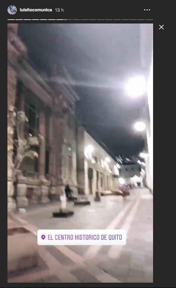 Luisito Comunica muestra el Centro Histórico de Quito