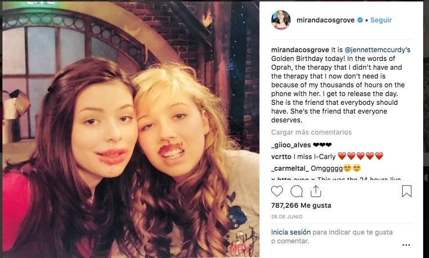 Instagram mirandacosgrove Verificado •