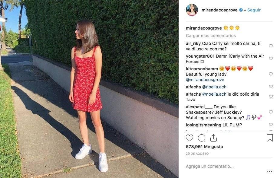 Instagram mirandacosgrove