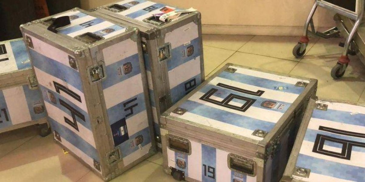 Luego del partido con Guatemala a Argentina le decomisan contrabando electrónico