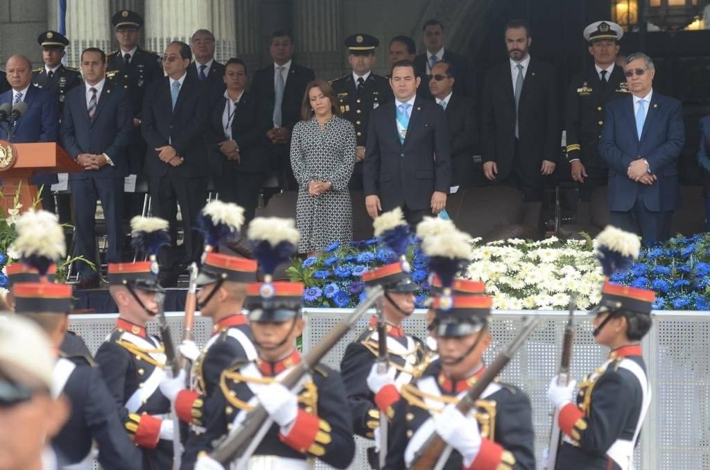 Desfile por conmemoración de los 197 años de Independencia. Foto: Omar Solís