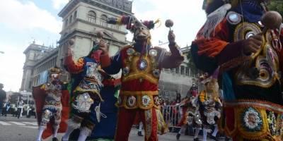 Desfile por los 197 años de Independencia.