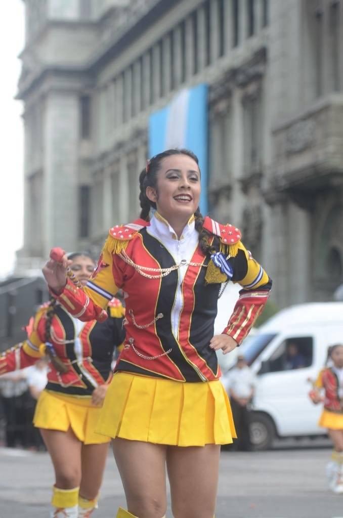 Desfile por los 197 años de Independencia. Foto: Omar Solís
