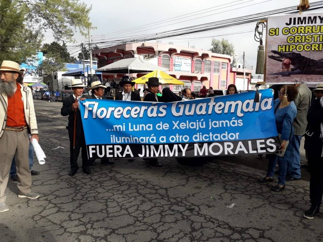 Desfile de Quetzaltenango. Foto: Stereo 100 Noticias