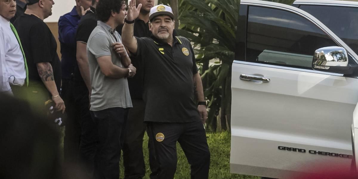 Maradona lanza mensaje a afición de Dorados y agradece que lo dejen trabajar