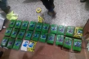 Cocaína incautada en Tecún Umán